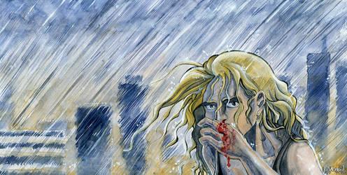 Alone in the Rain by Aureolus