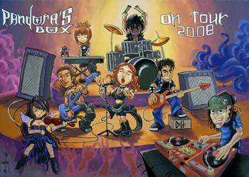 Pandoras Box Poster 3 by Aureolus