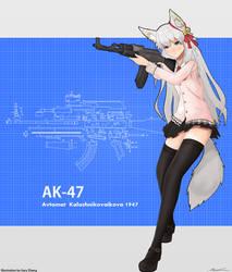 Ak 47 by gary2003
