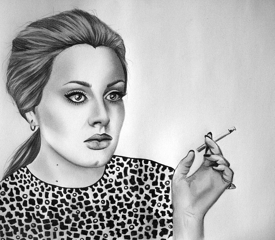 Adele by Pinkeyesky