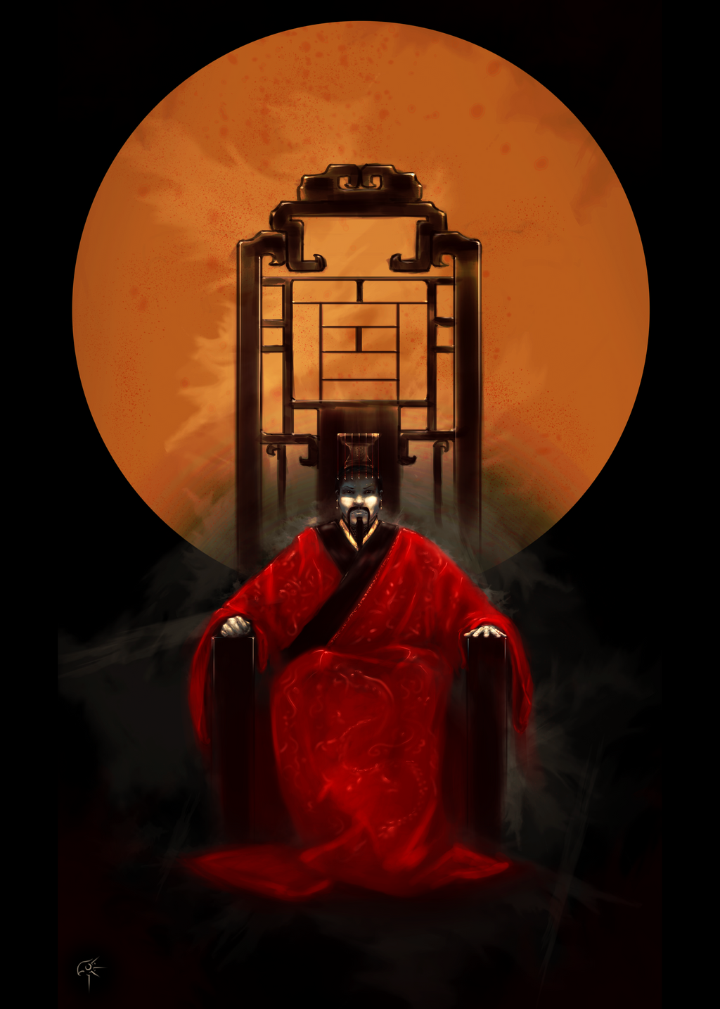 Chinese emperor by Oneyric on DeviantArt