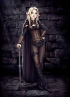 Araelia, Elf Rogue by beekakke