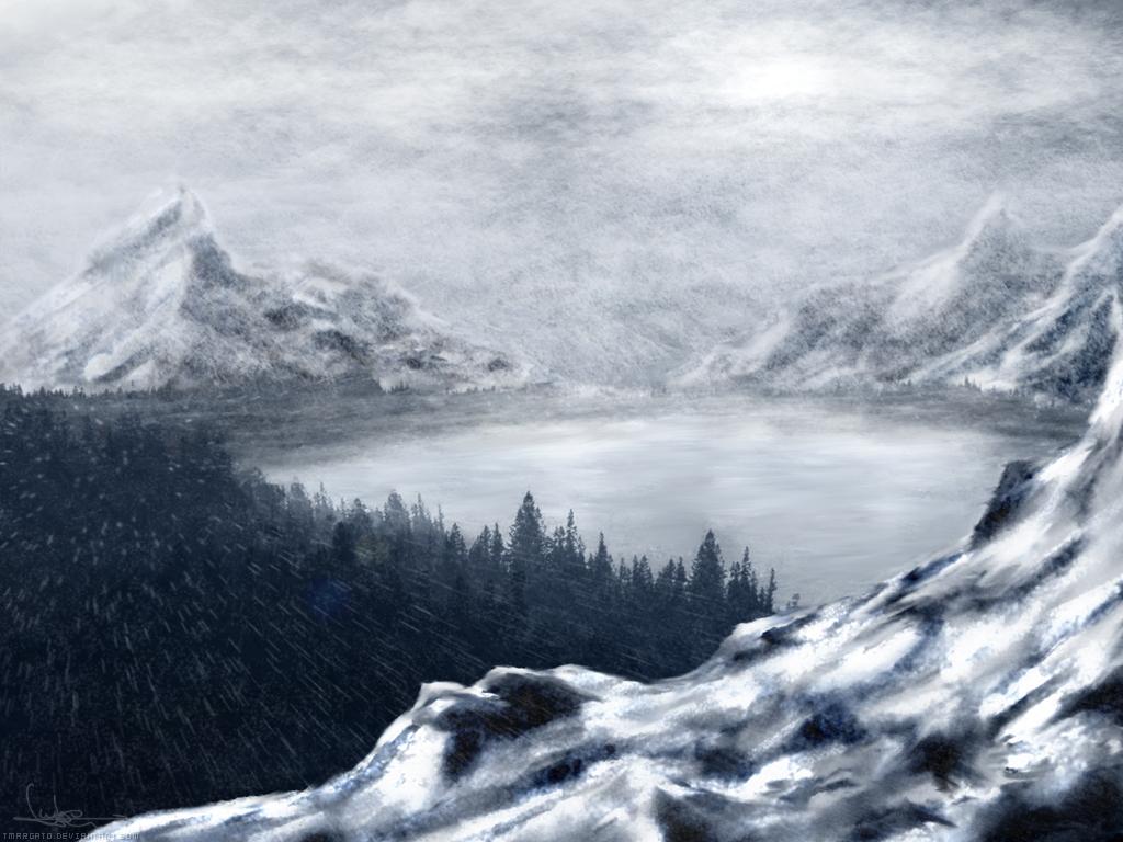 Frozen Lake by tmargato