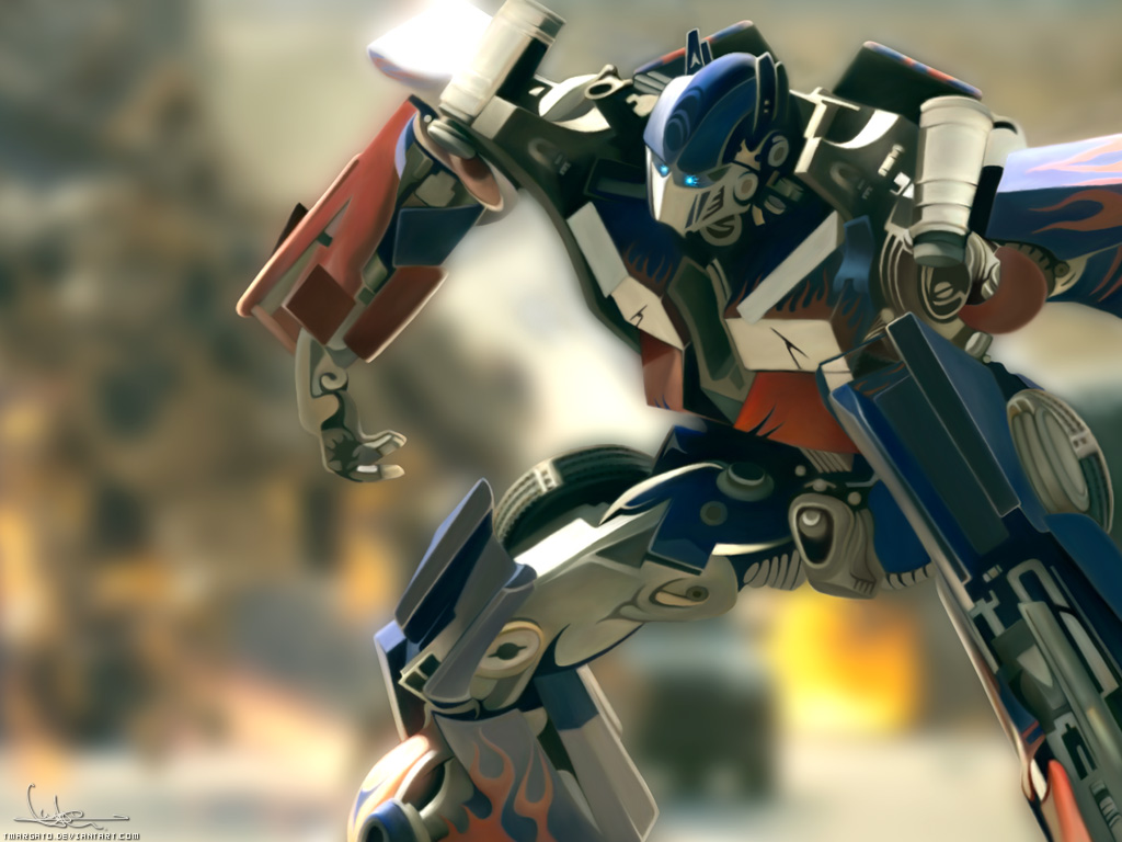Awesome Illustrations of Optimus Prime