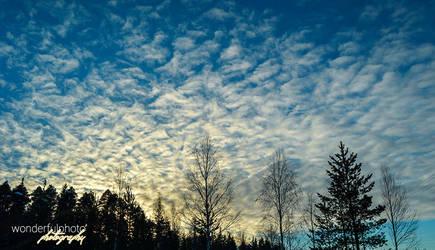 spring clouds by wonderfulphoto