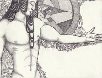Nude Male Torso by RabanusVanBirkenheid