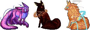 Aurei Pleiades   Pixel Batch I by Vantsu