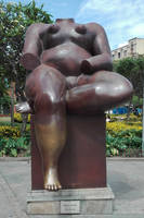 Fernando Botero Sitting woman
