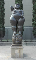 Fernando Botero The thought