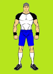 John Cena (WWE) Via Hero Machine by BartGriffin