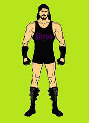 Rhyno (ECW) Via Hero Machine by BartGriffin