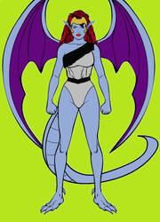 Demona (Gargoyles) Via Hero Machine by BartGriffin