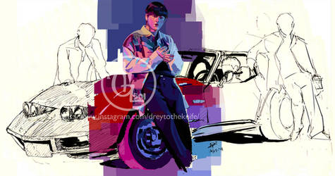 Junhyung Go Away by silk501