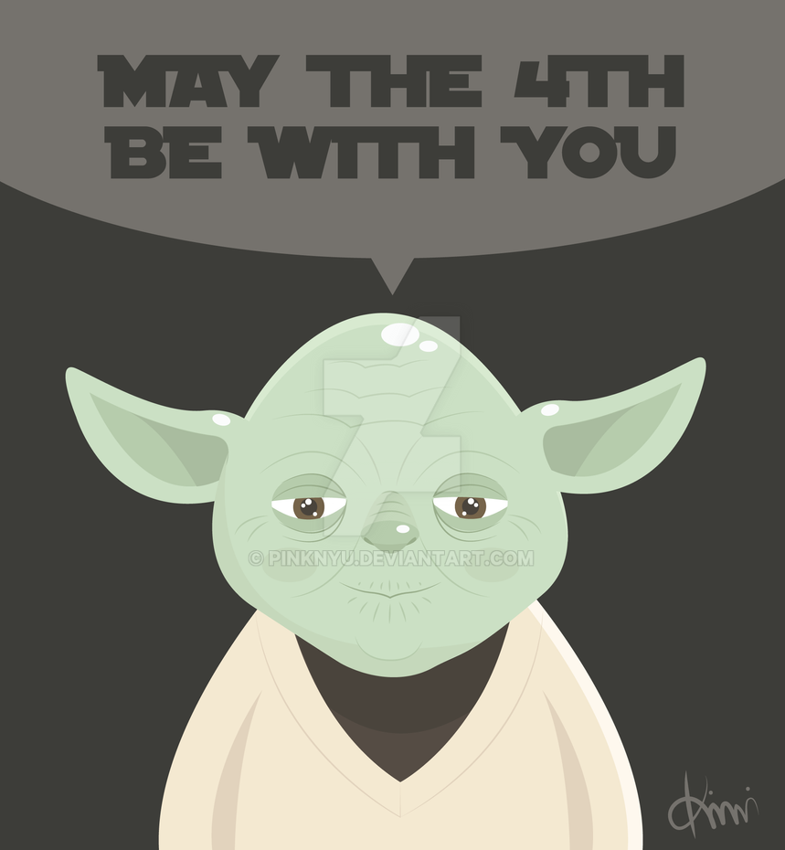 May the 4th be with you. by PinkNyu