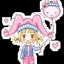 Chibi Joke by PinkNyu