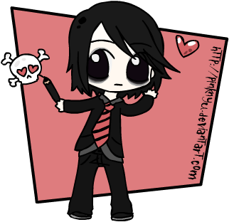 Chibi Gerard Way  -MCR- by PinkNyu