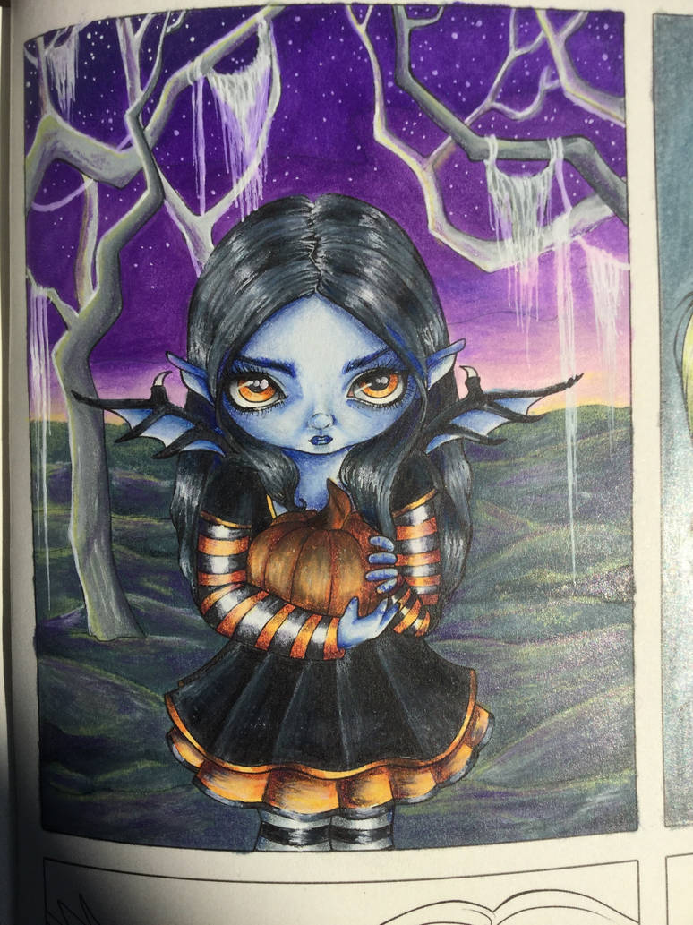 Halloween Jasmine Becket Griffith Coloring book by lastregheria ...