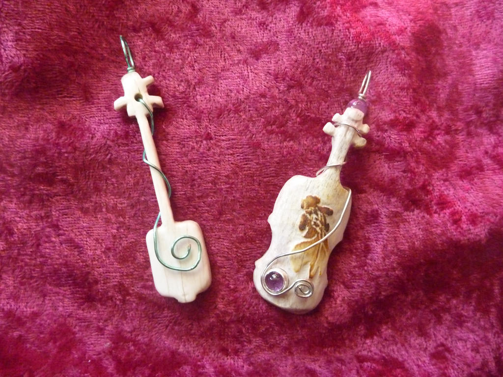 Carved Instruments by Tricksters-Taxidermy