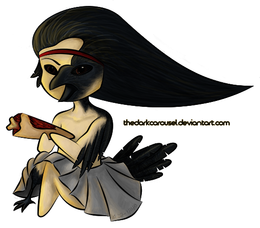 Karasu Colored by TheDarkCarousel