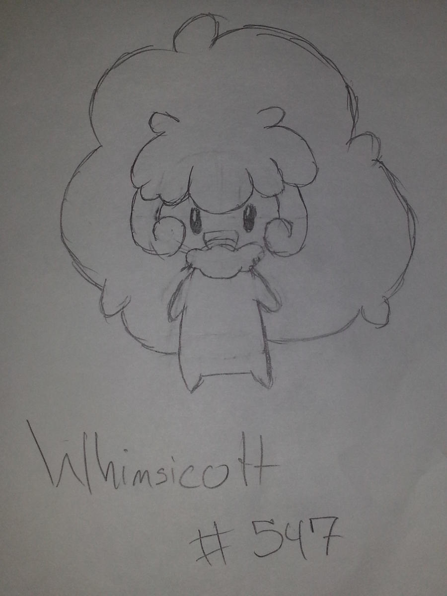 Whimsicott by Insane-Lioness