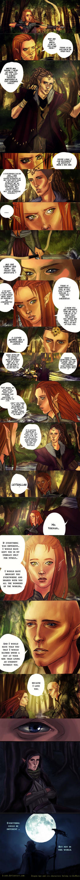 DAI - But not in this world 2 [SPOILERS] by K-yon