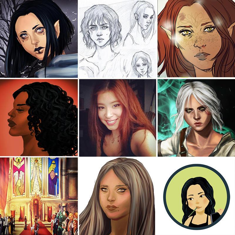 Art vs artist by K-yon