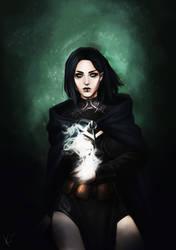 Dark Mage by K-yon