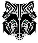 Finalized Tribal Wolf Tattoo D