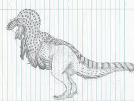 Born from Boredom: Gorgosaurus by RajaHarimau98