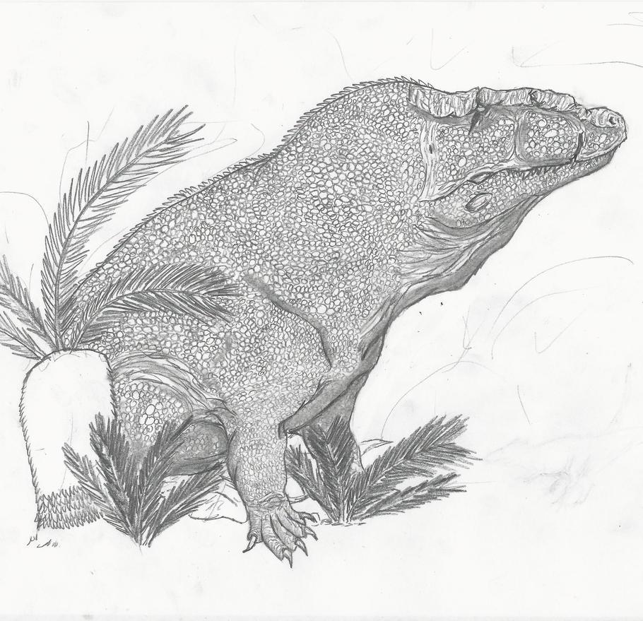 Erythrosuchus WIP by RajaHarimau98