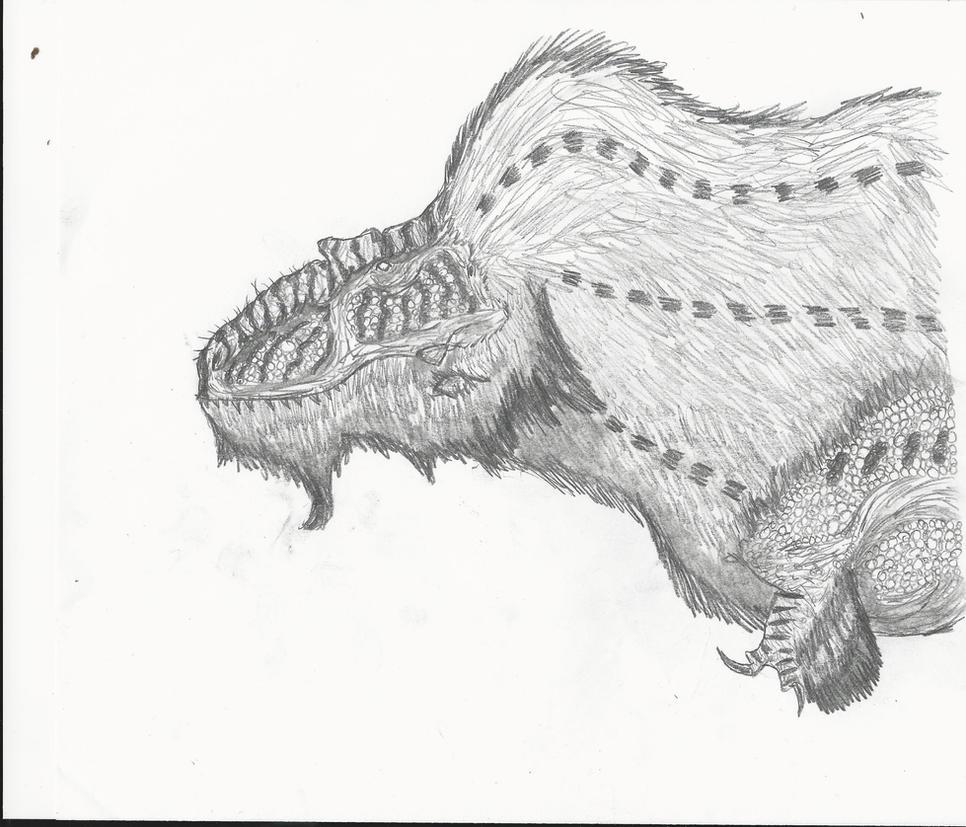 Daspletosaurus Doodles by RajaHarimau98