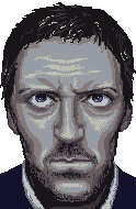 Hugh Laurie by marchetooo