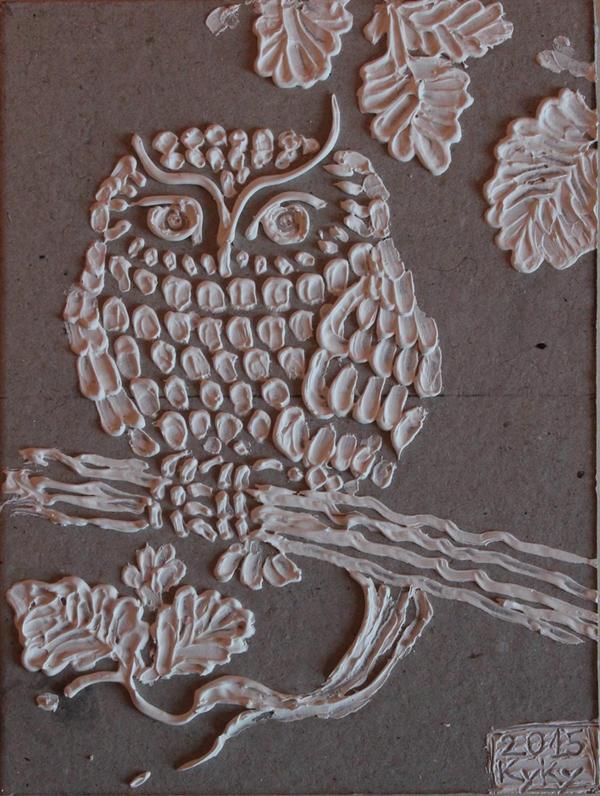 Cute little owl by marchetooo