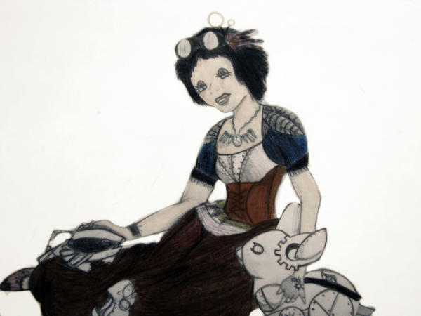 Steampunk Snow White by Unicorn-Jenna