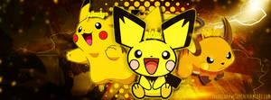 Pokemon TLC } Pichu, Pikachu, Raichu