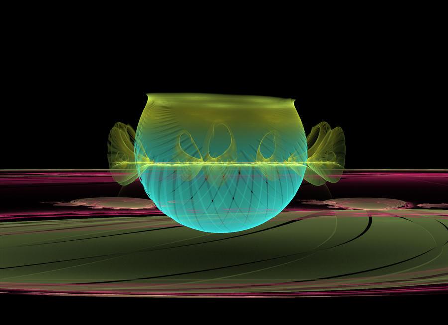 Alien Vase challenge #146 by apomaker