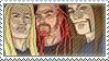Skwis, Pickels and Toki stamp