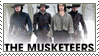 The Musketeers BBC Stamp by forstyy