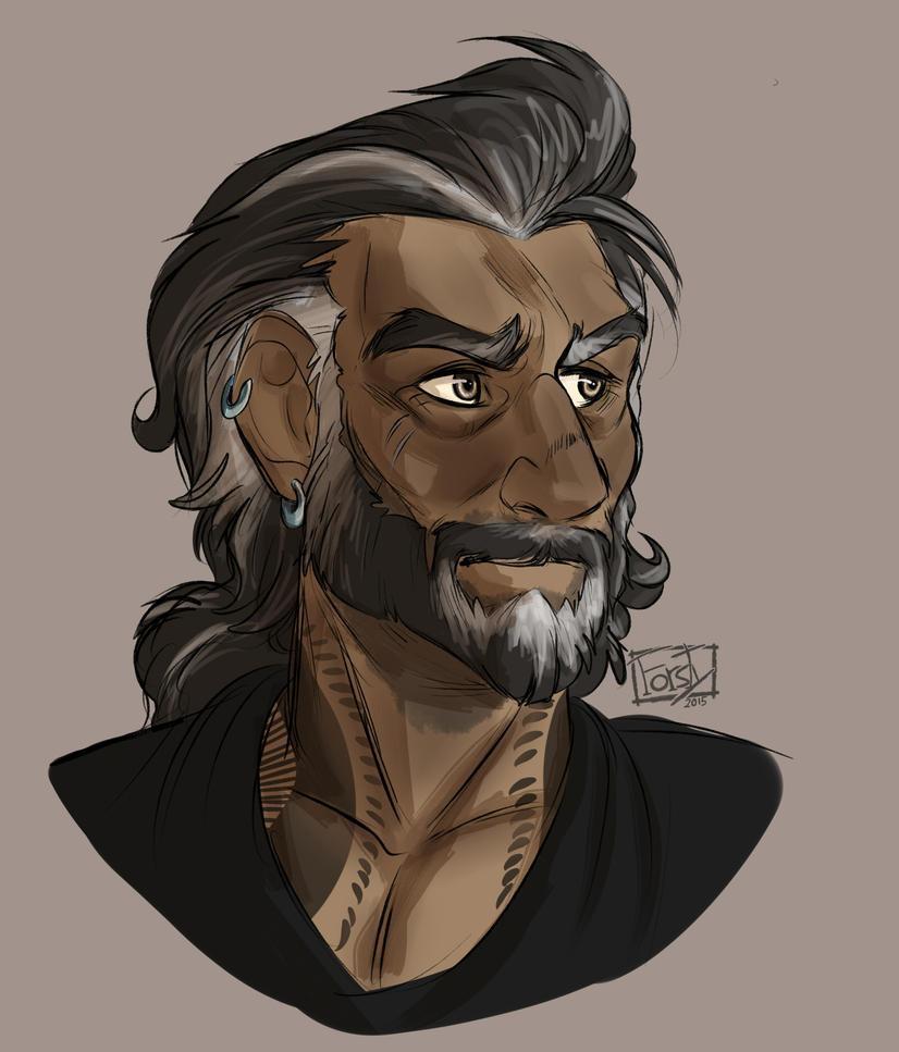 Oldman Josef by forstyy
