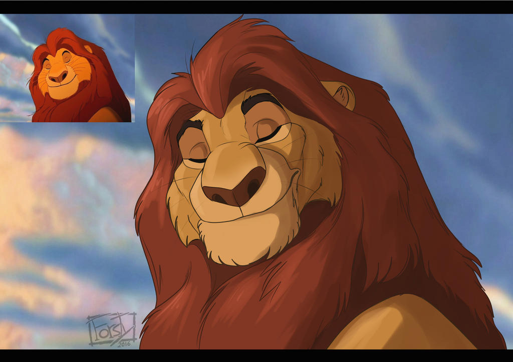 Mufasa by forstyy on DeviantArt