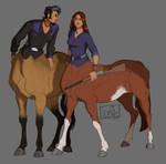 Cowboy centaurs