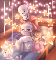 Bed Time Story by Aderlut