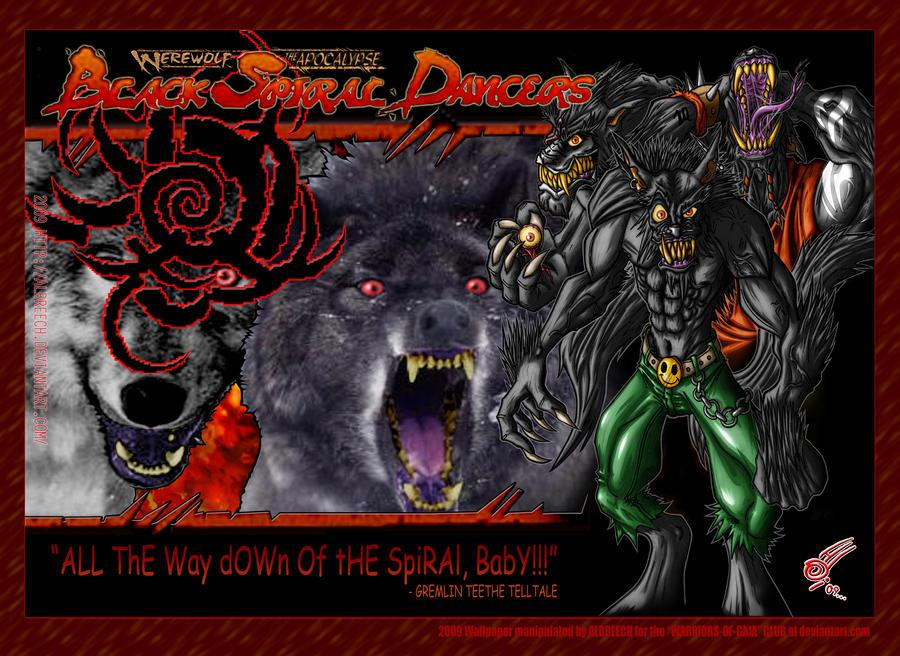 BLACK SPIRAL DANCERS and WENDIGO (Werewolf Apocalypse Tribe Novels 7)
