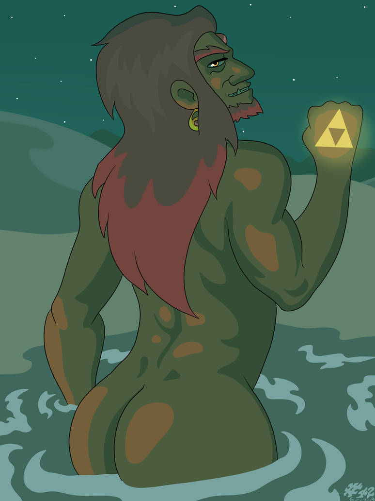 Ganon's Back by CountBedlam