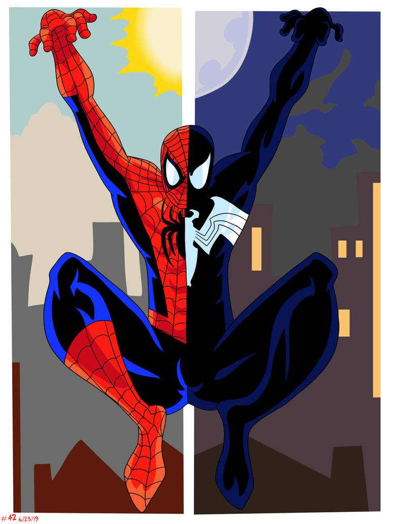 Spidey Split by CountBedlam