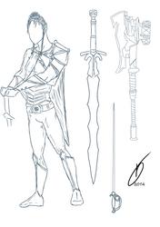 Concept Knight Male by MsTaz511