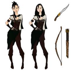 Female Rogue Concept #2