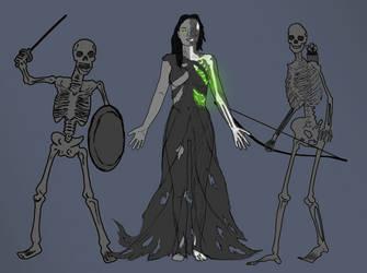 Lich Queen Nevaeh Concept by MsTaz511