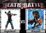 Death Battle - NightWolf VS Warpath