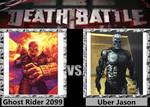 Death Battle - Ghost Rider 2099 VS Uber Jason